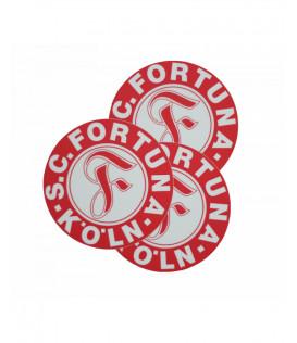 Fortuna Köln Aufkleber rund