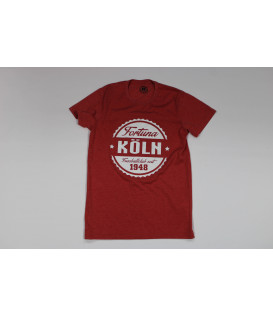 T-Shirt Red Marl