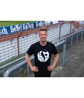 """T-Shirt """"F"""" schwarz"""